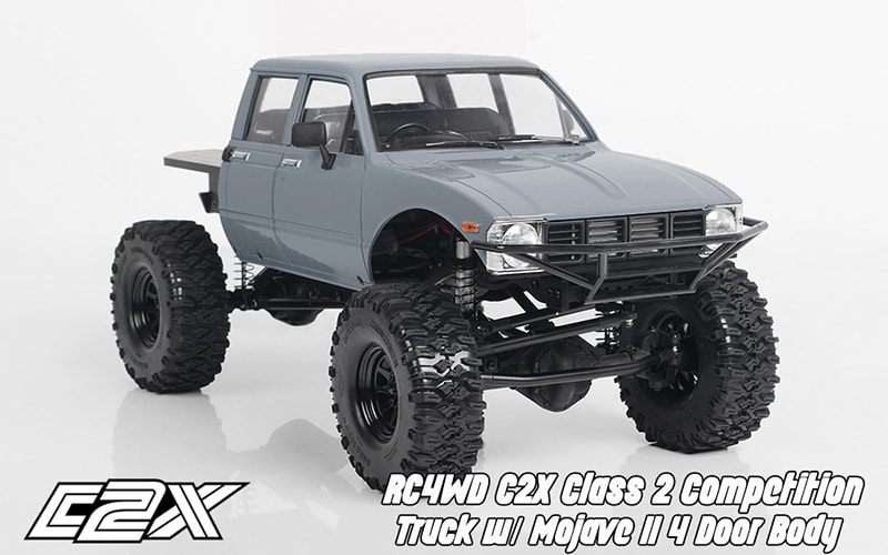 RC4WD Rolls Out the Hardbodied C2X Class 2 Comp Truck
