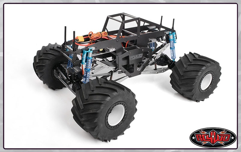 RC4WD Carbon Assault Monster Truck - Chassis Assembled