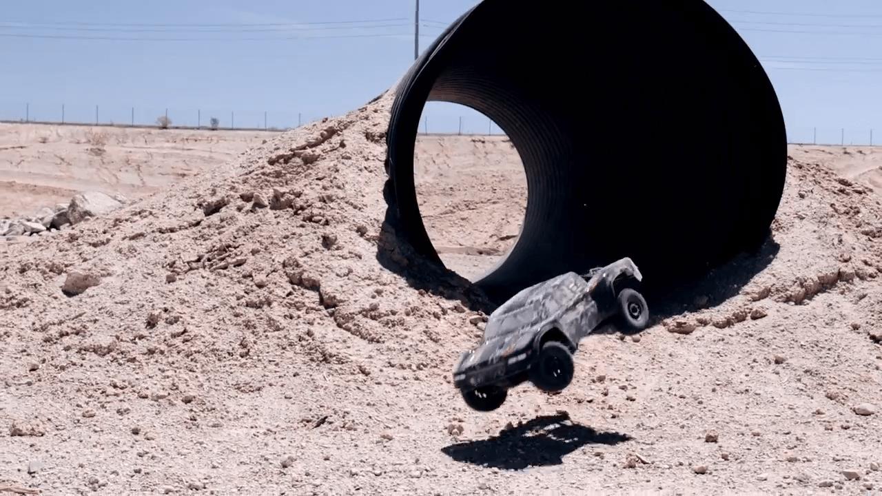 See it in Action: Redcat Racing Camo TT Trophy Truck [Video]