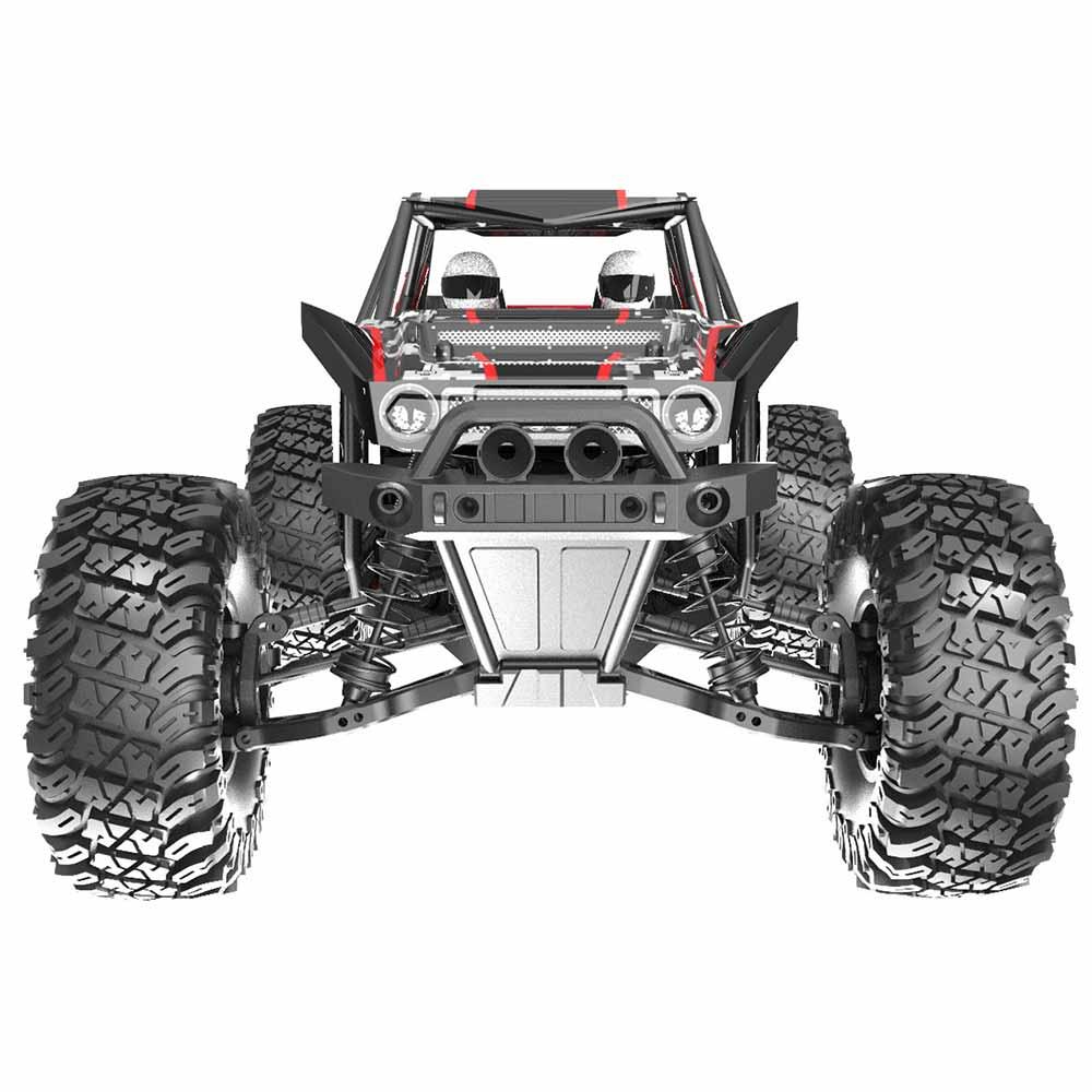 Redcat Racing Camo X4 Rock Racer - Front