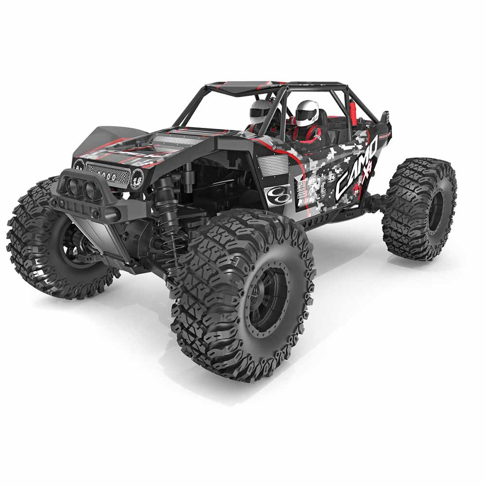 Enter to Win a Camo X4 Rock Racer from Redcat Racing