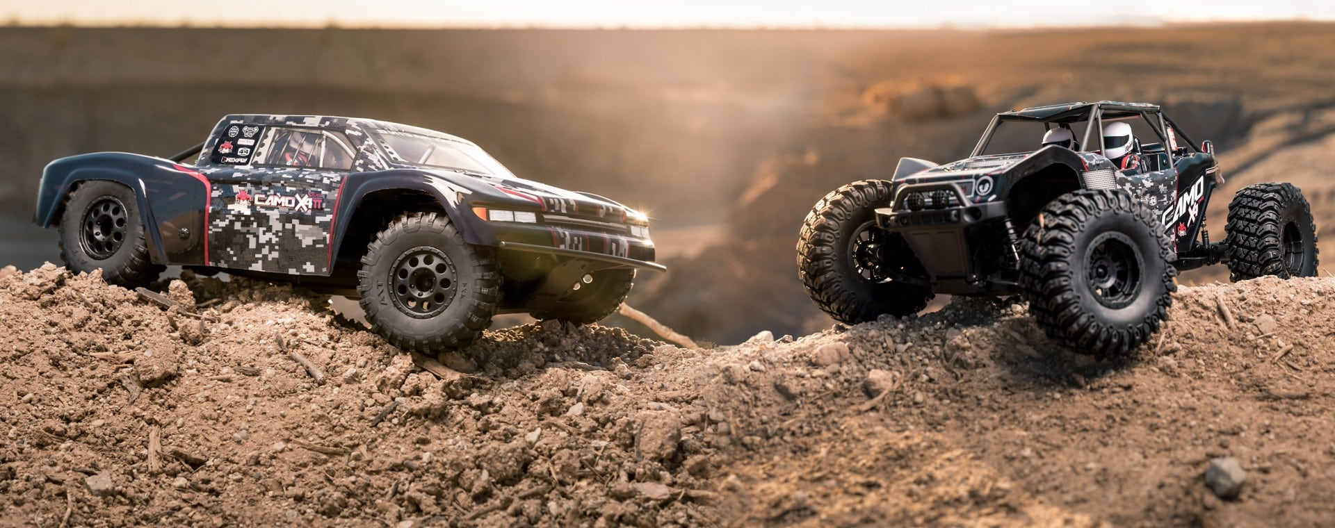 Back in Stock and Ready for Action: Redcat Racing's Camo-X4 Pro & Camo-TT Pro
