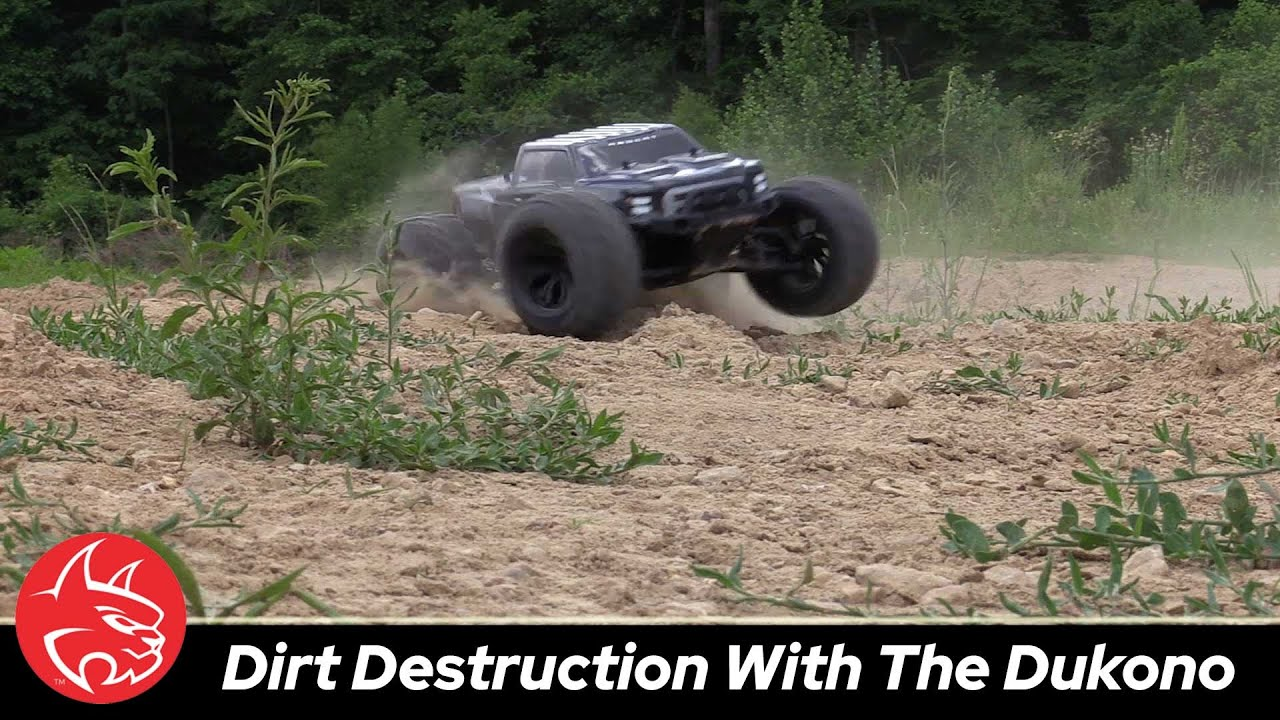 Rippin' it Up with Redcat Racing's Dukono Monster Truck [Video]