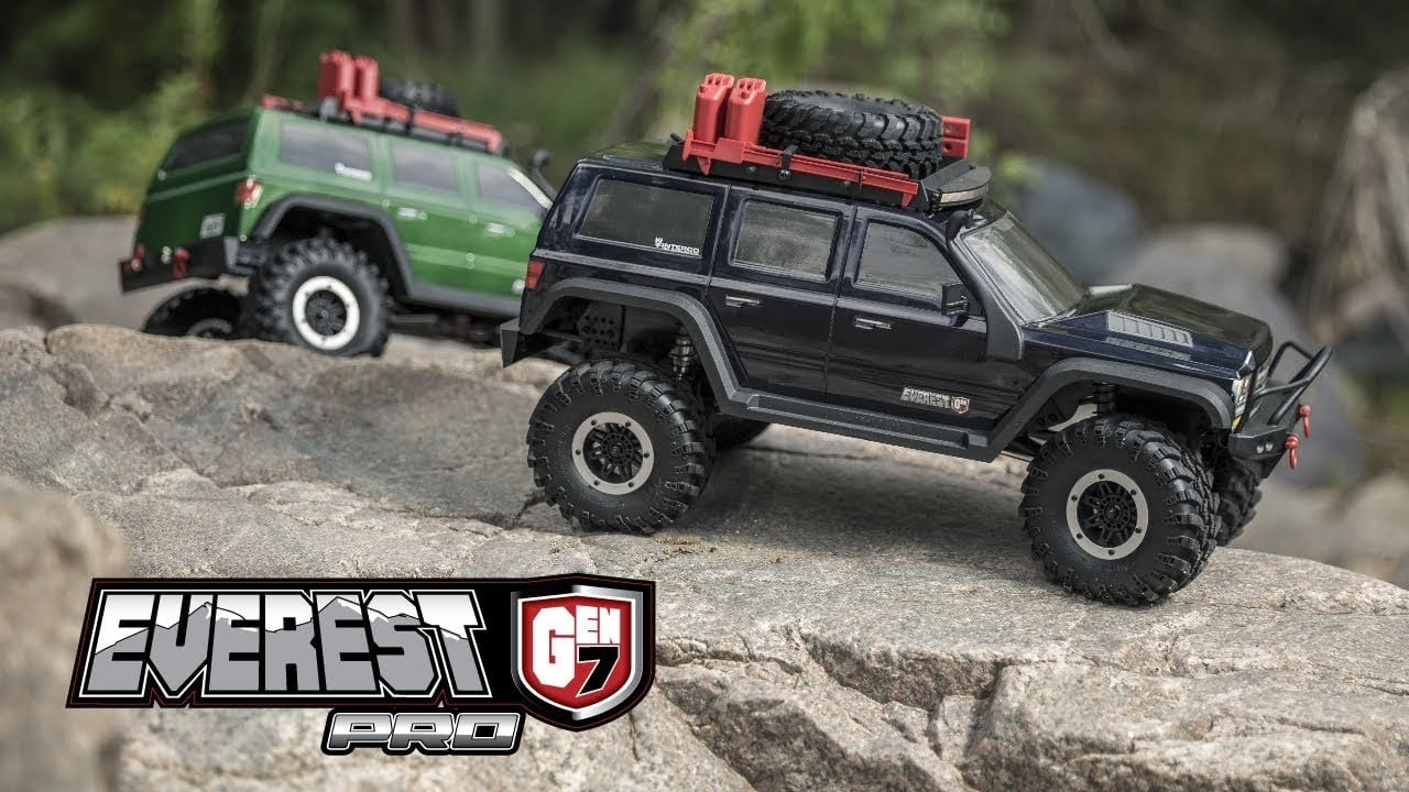 See the Redcat Racing Everest GEN-7 Pro Tackle the Great Outdoors [Video]