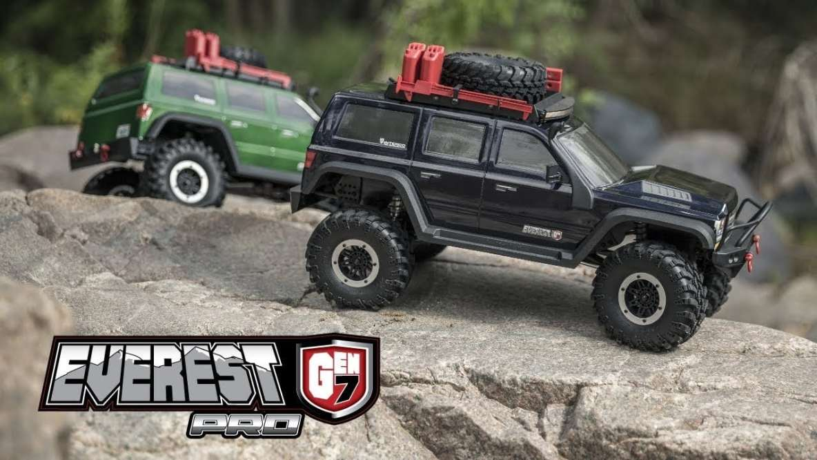 See The Redcat Racing Everest GEN 7 Pro Tackle Great Outdoors Video