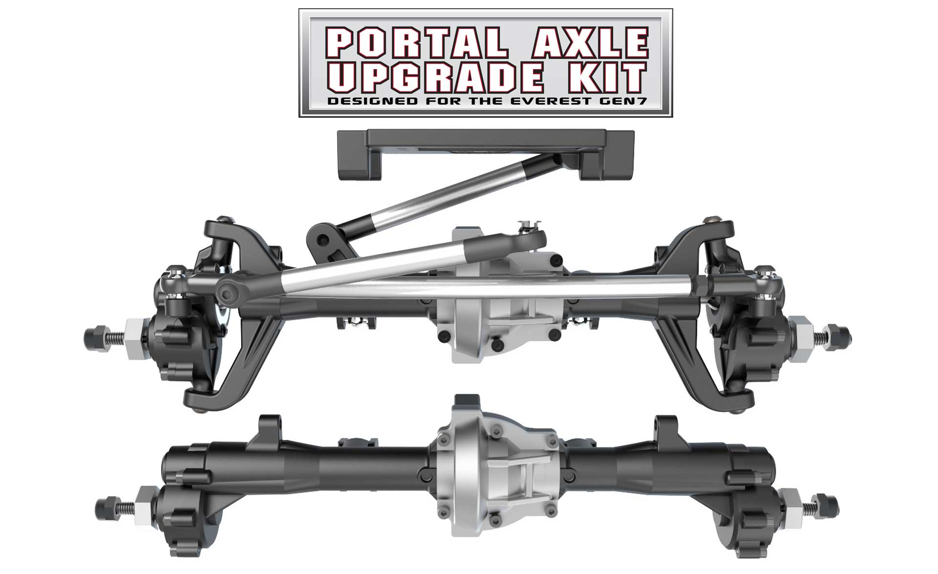 Redcat Racing Everest GEN7 Portal Axle Upgrade Kit - Large View