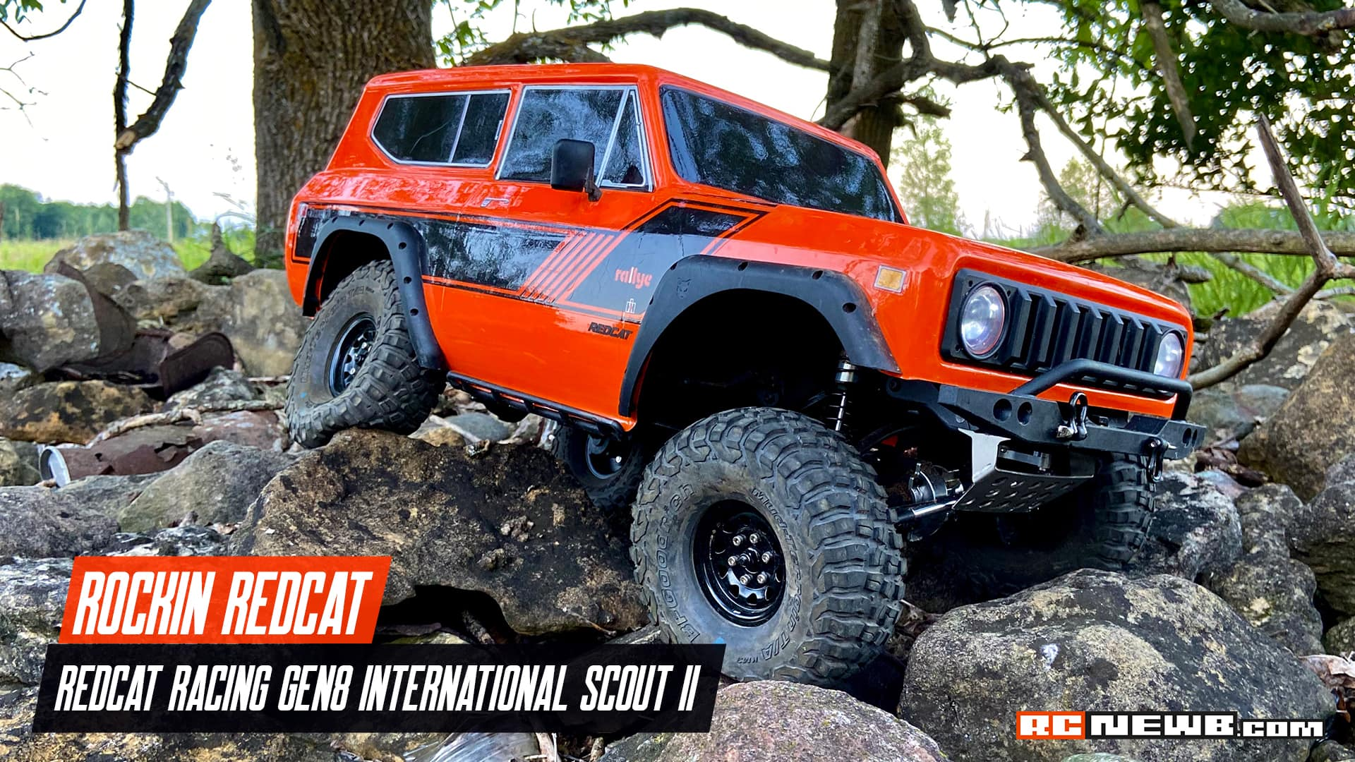 Conquering the Rocks with a Redcat GEN8 Scout II [Video]