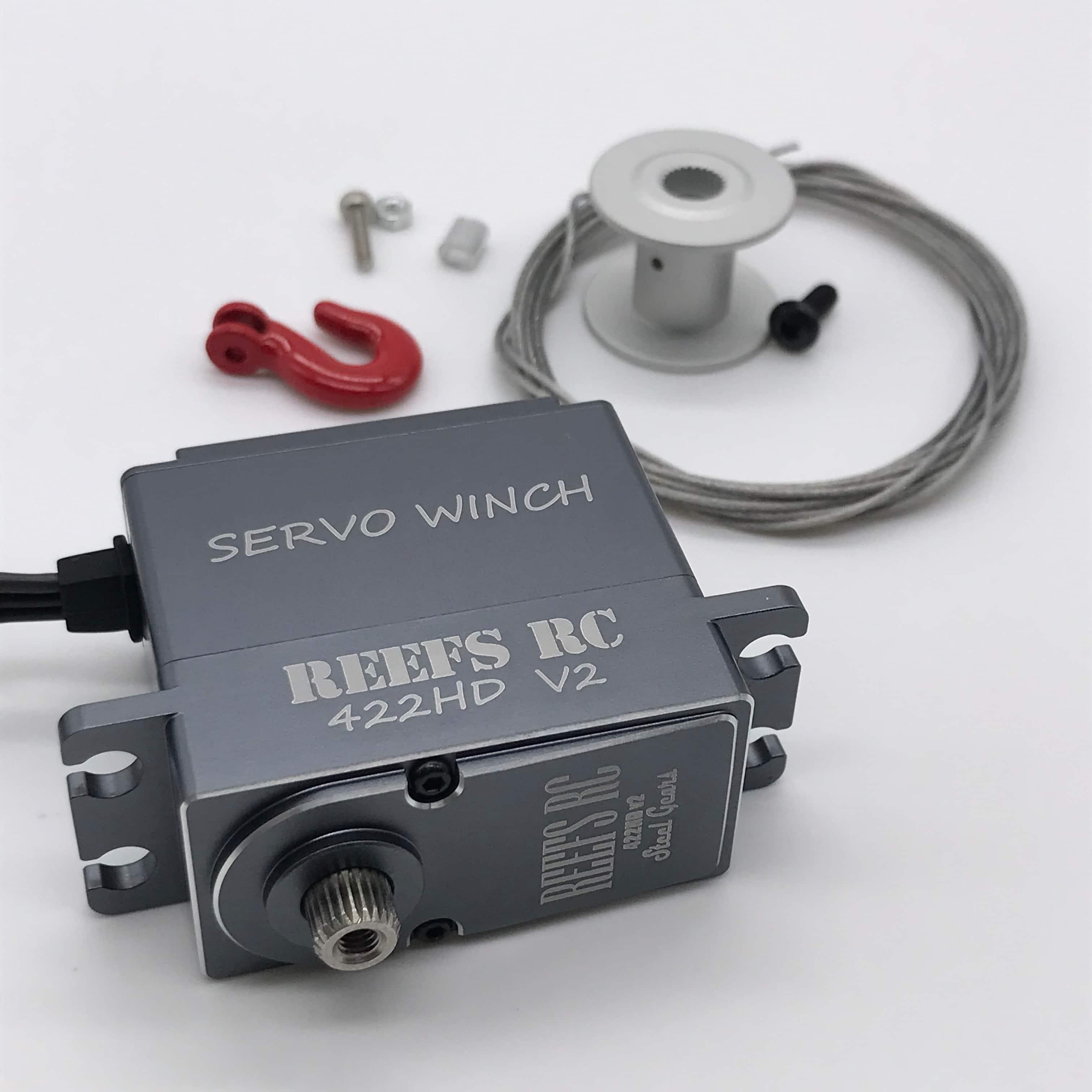 REEF'S RC 422HDv2 Servo Winch Kit