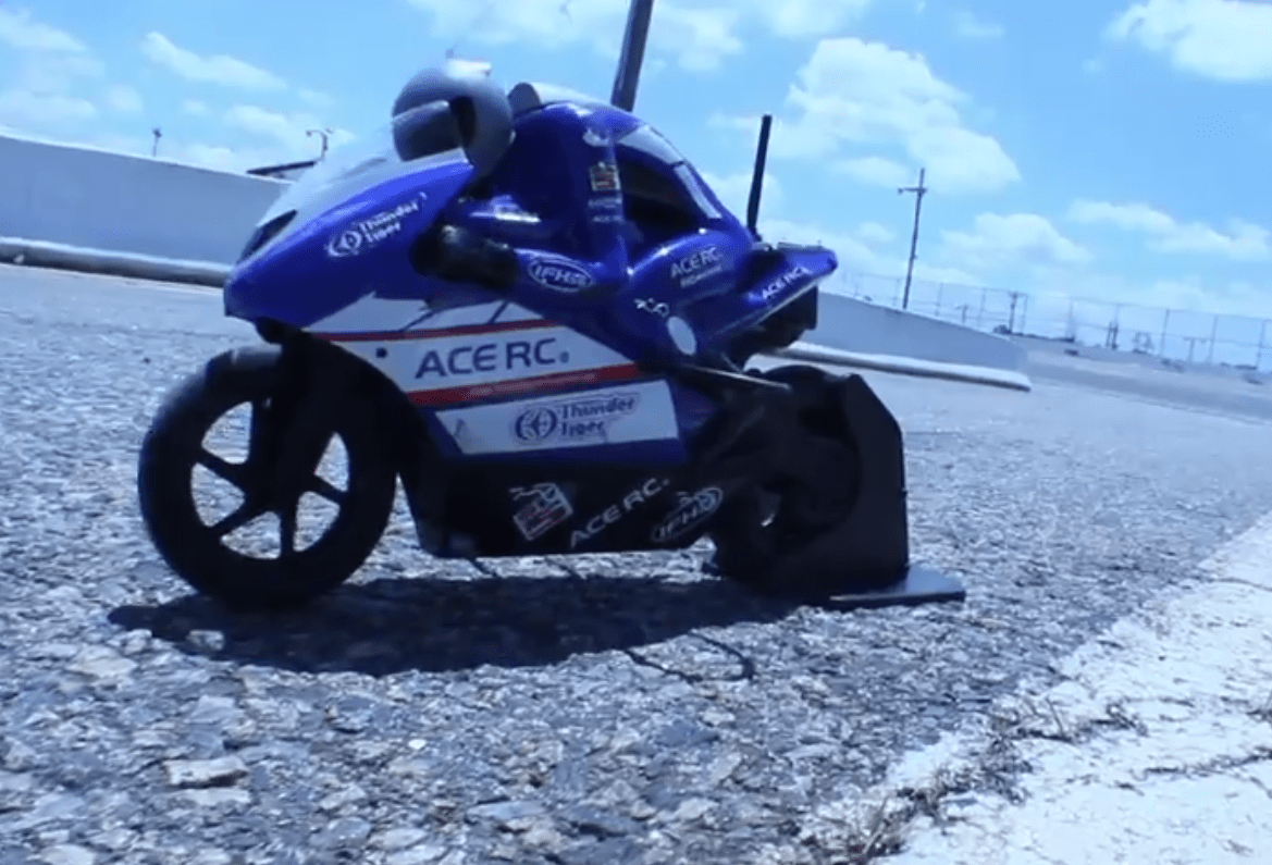 The Light It Up Blue Speed Cycle Project [Video]