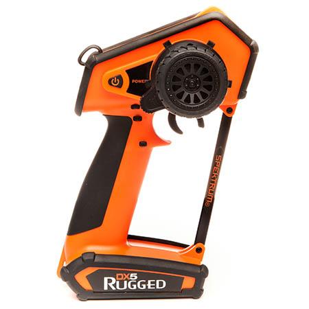 Spektrum DX5 Rugged Orange Special Edition Transmitter