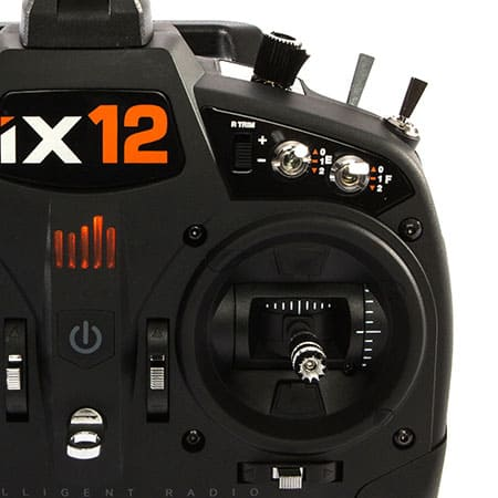 Spektrum iX12 Transmitter - Closeup