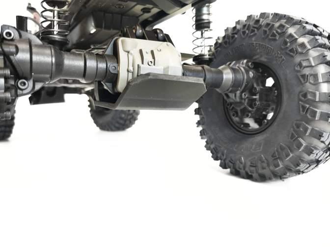 T-Bone Racing TRX-4 Front Diff Skid - Detail