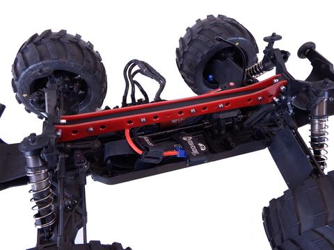 T-Bone Racing's T2T Upper Chassis Brace for the Tekno MT410 Monster Truck