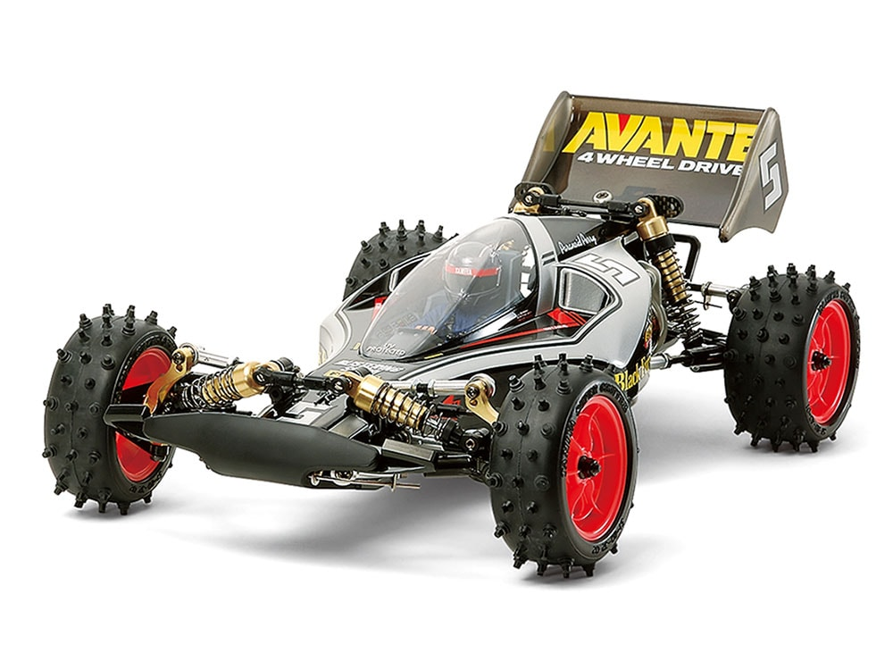 Tamiya Avante (2011) Black Special 1/10-scale Buggy Re-release
