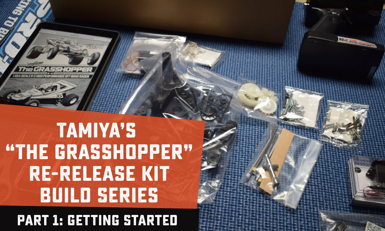 Building an R/C Car Kit: Getting Started with Tamiya's Grasshopper Buggy