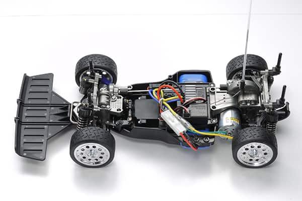 Tamiya Lancia Rally 1:10 - Chassis