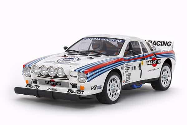 Tamiya's Rally Cry: 1/10 Lancia Rally Kit