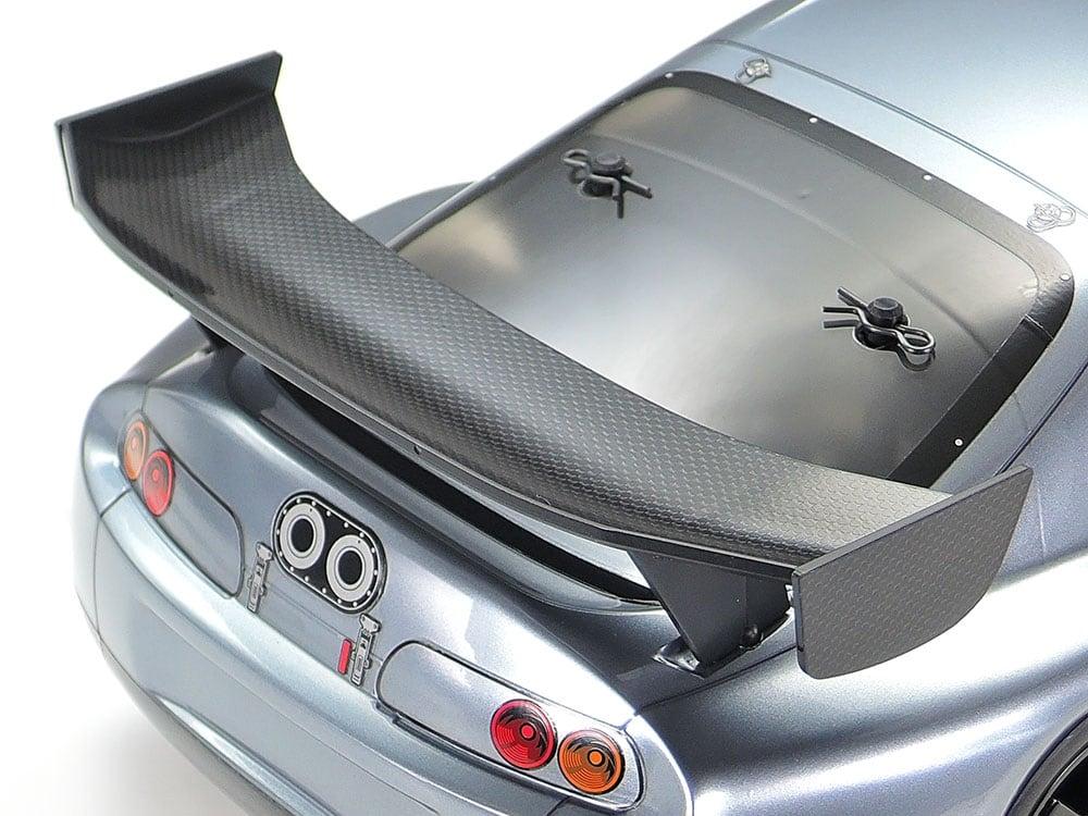 Tamiya Toyota Supra Racing (A80) Kit - Wing Detail