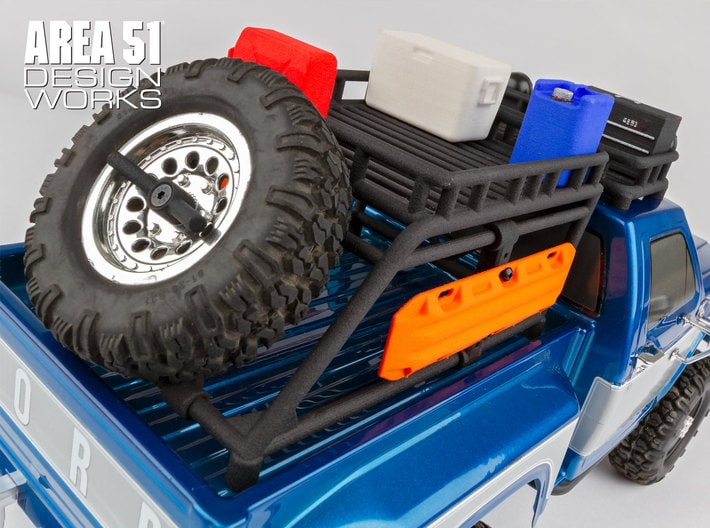 Team Associated Releases 3D Printed Parts for the CR12 Trail Truck