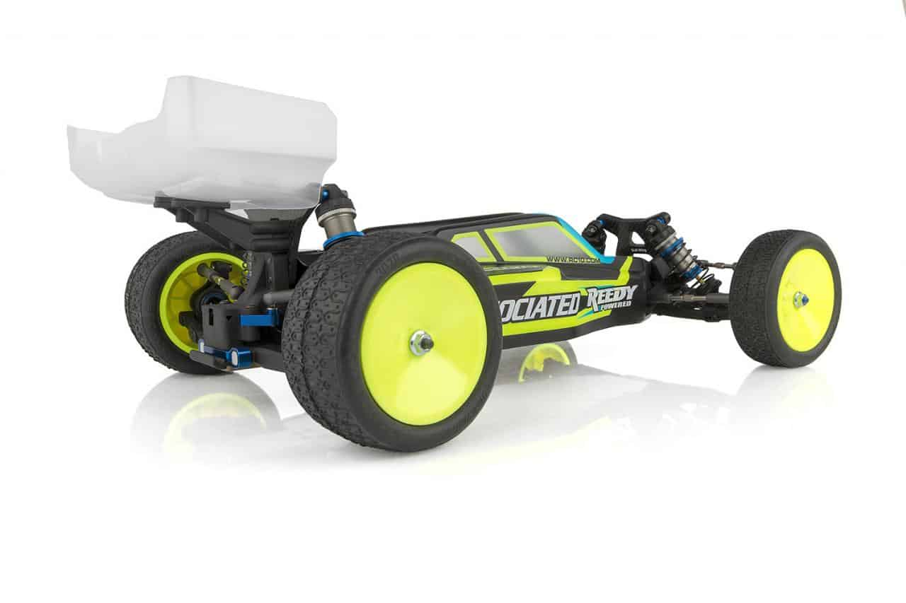 Team Associated RC10B61D Competition Team Kit - Rear