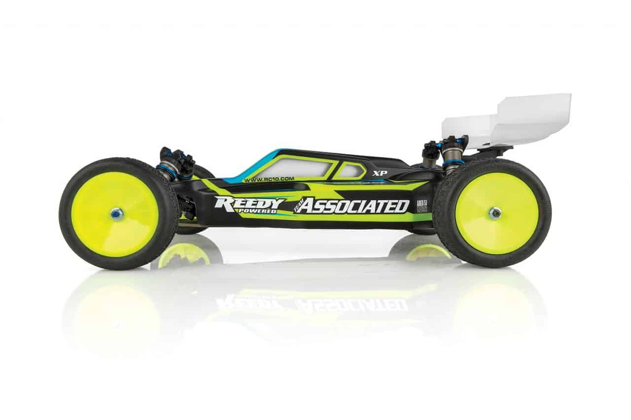 Team Associated RC10B61D Competition Team Kit - Side