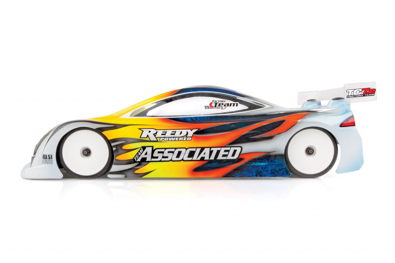 Team Associated RC72 Touring Car Kit - Side