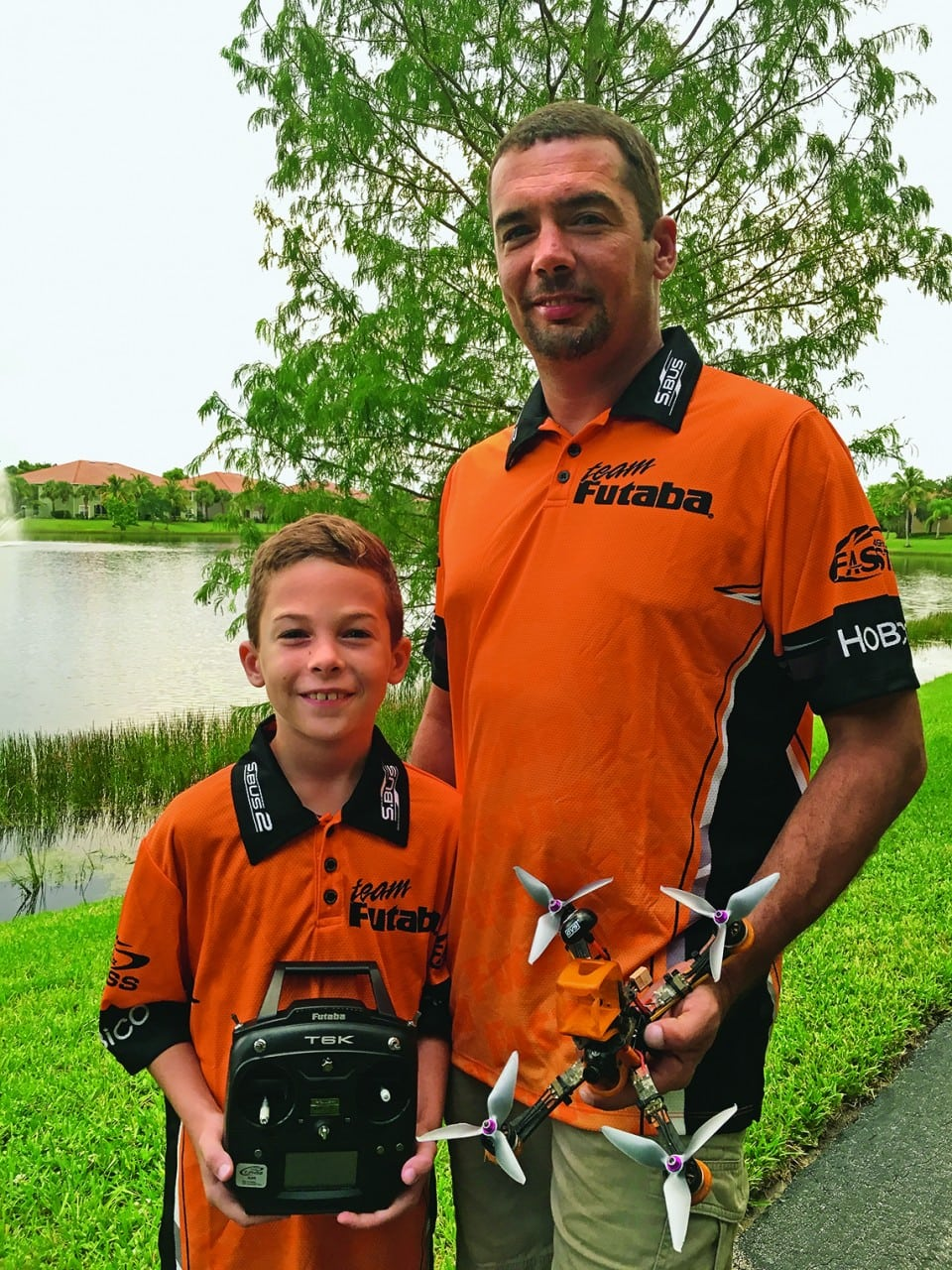 A Father/Son FPV Team are the Latest to Join Team Futaba