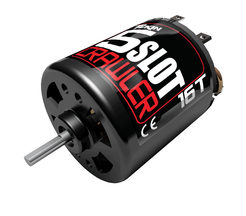 Tekin Introduces a New Line of 5-Slot Brushed R/C Crawler Motors