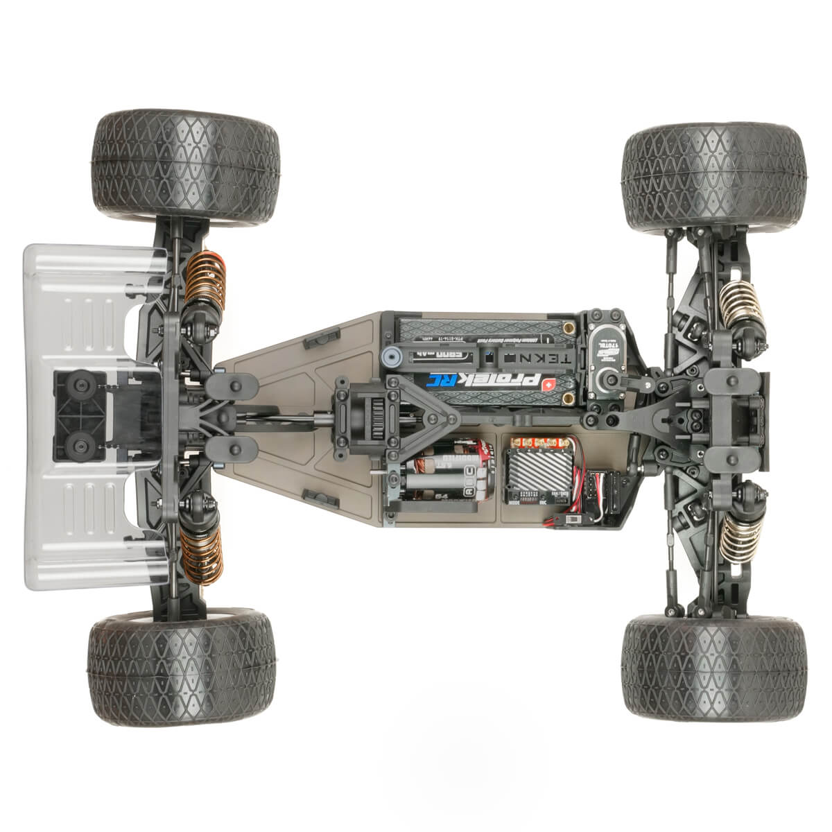 Tekno RC ET410.2 Truggy Kit - Top Chassis