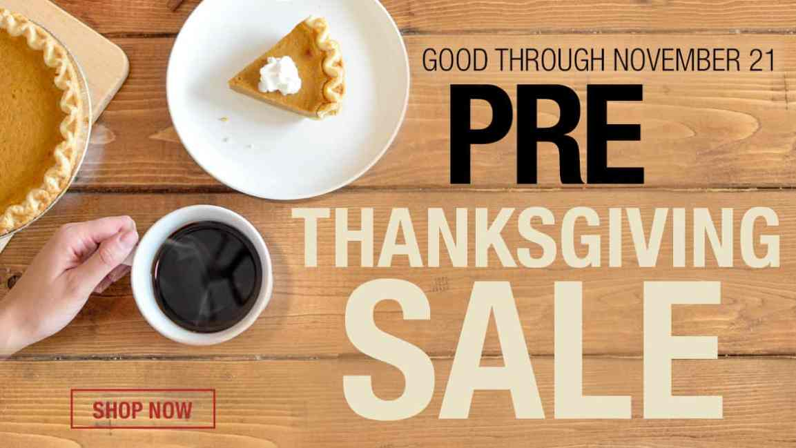 Save Room at the Table for These Pre-Thanksgiving Day Deals at Tower Hobbies