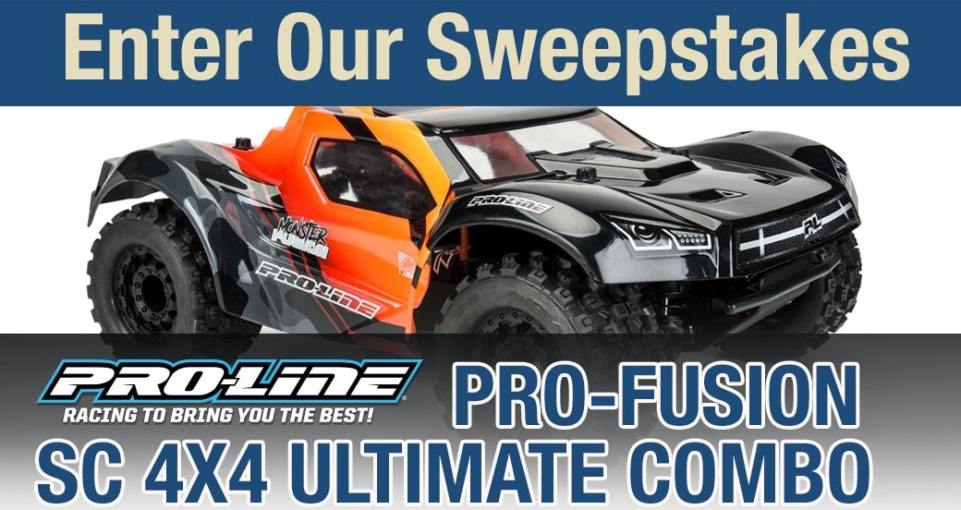 Enter to Win a Pro-Line PRO-Fusion 4×4 Kit Plus More from