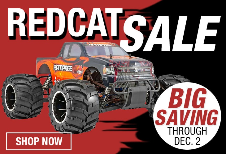 Save on Redcat Racing Models Through 12/2 at Tower Hobbies