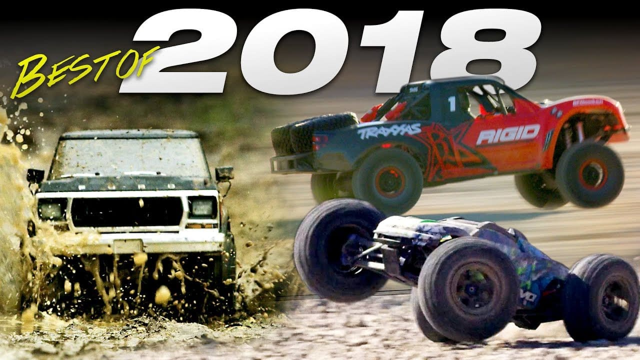 Traxxas Rolls Out Their 2018 Highlight Reel [Video]