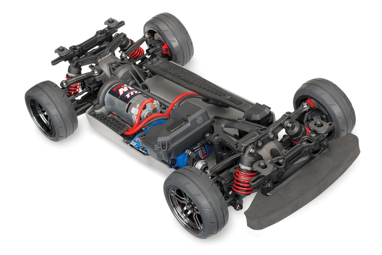 The Traxxas 4-TEC 2.0 is Now Available without a Body (and with a Brushless Motor)