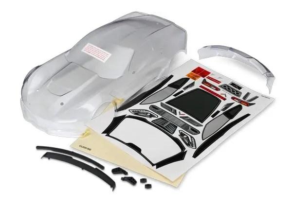 Traxxas 4-Tec Corvette Body - Clear
