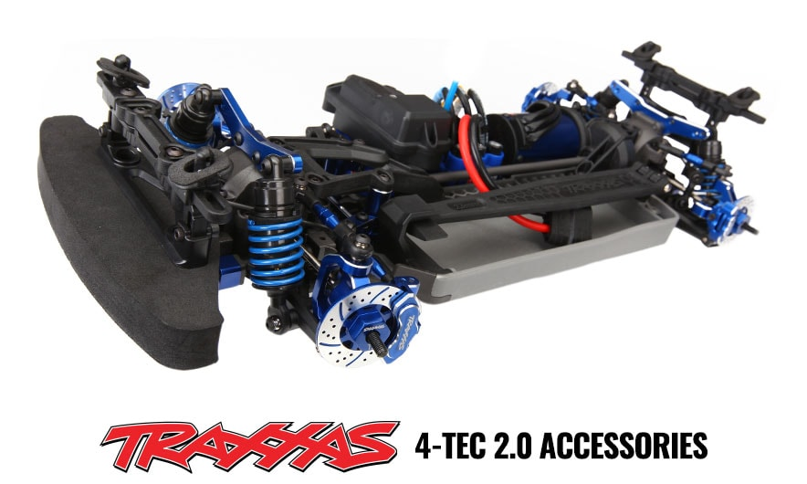 Traxxas Aluminum 4-Tec 2 Accessories