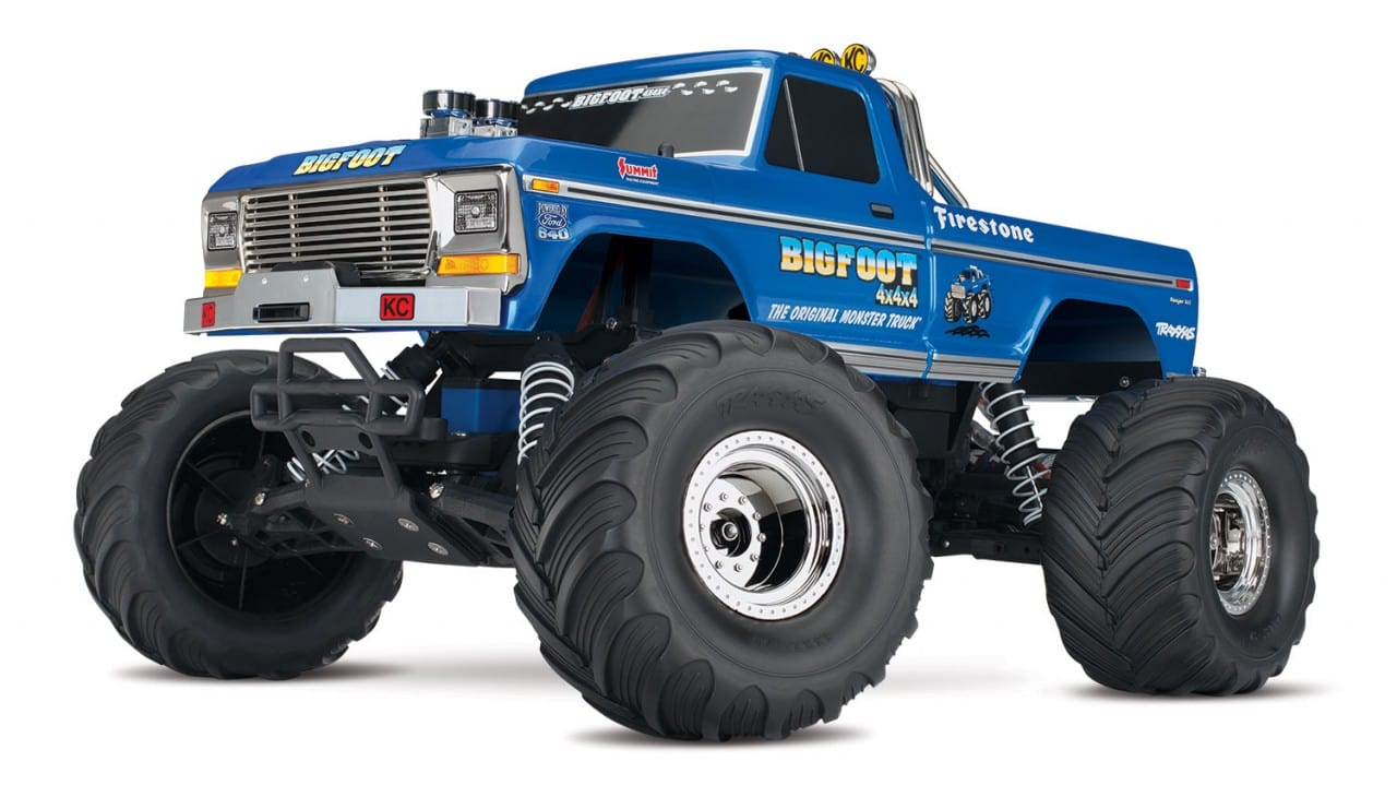 Traxxas Goes Retro with the Bigfoot #1
