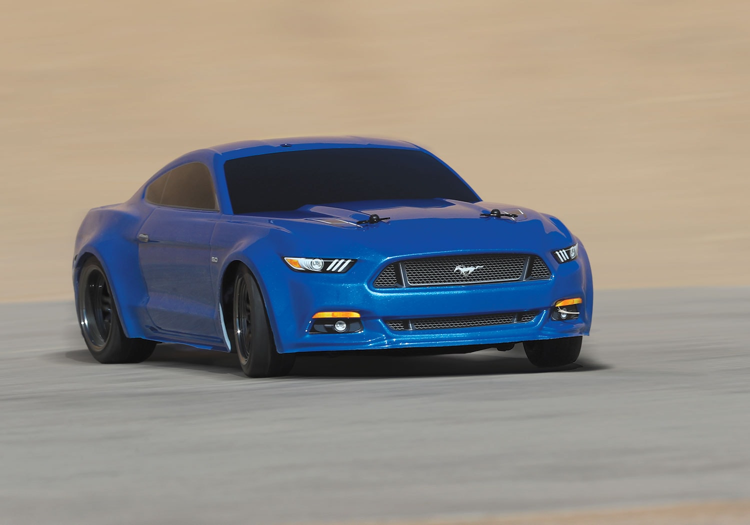 The Traxxas 4-Tec 2.0 Mustang GT is Now Available in Red or Blue