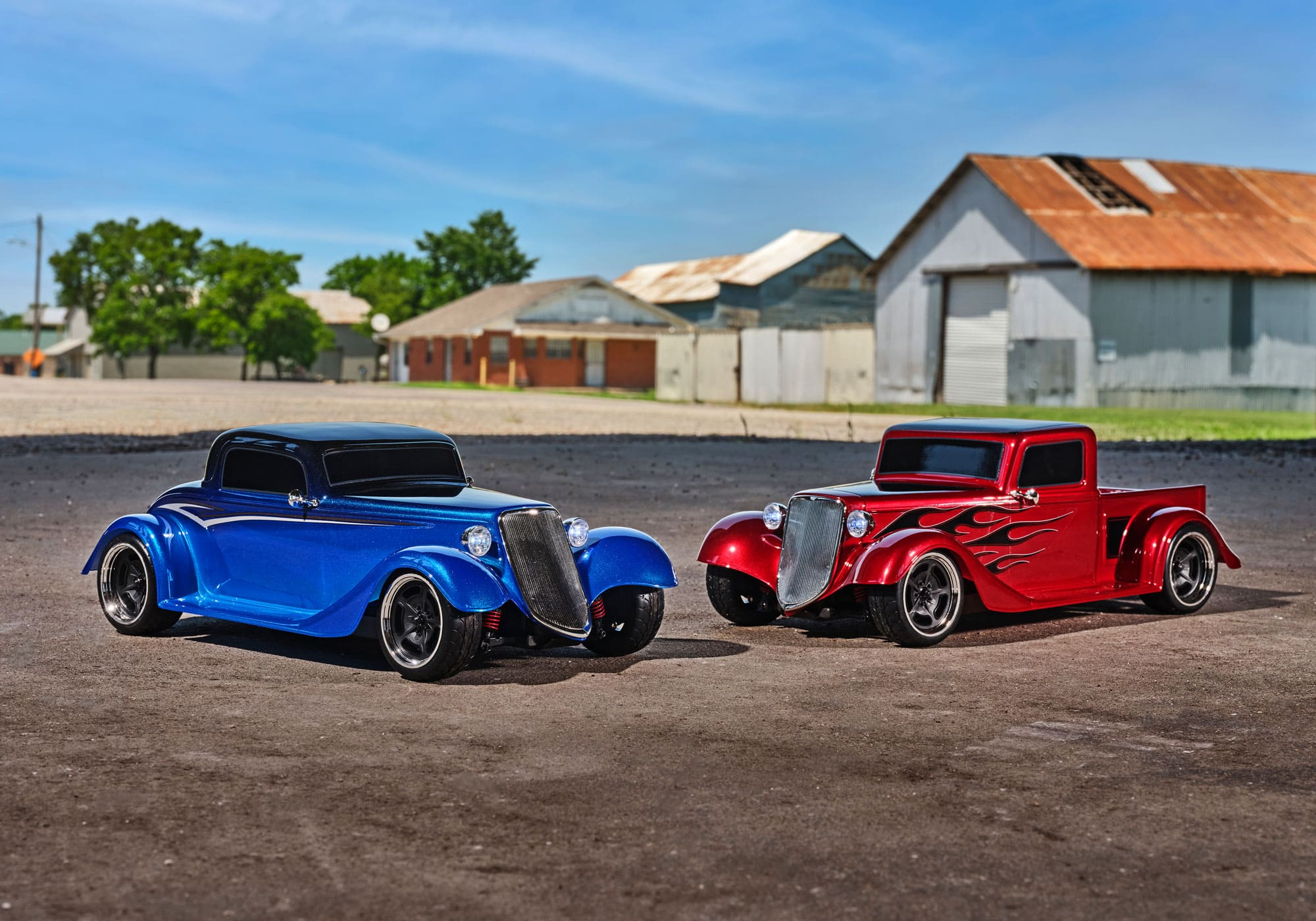 Get Rolling with Two New Hot Rods from Traxxas