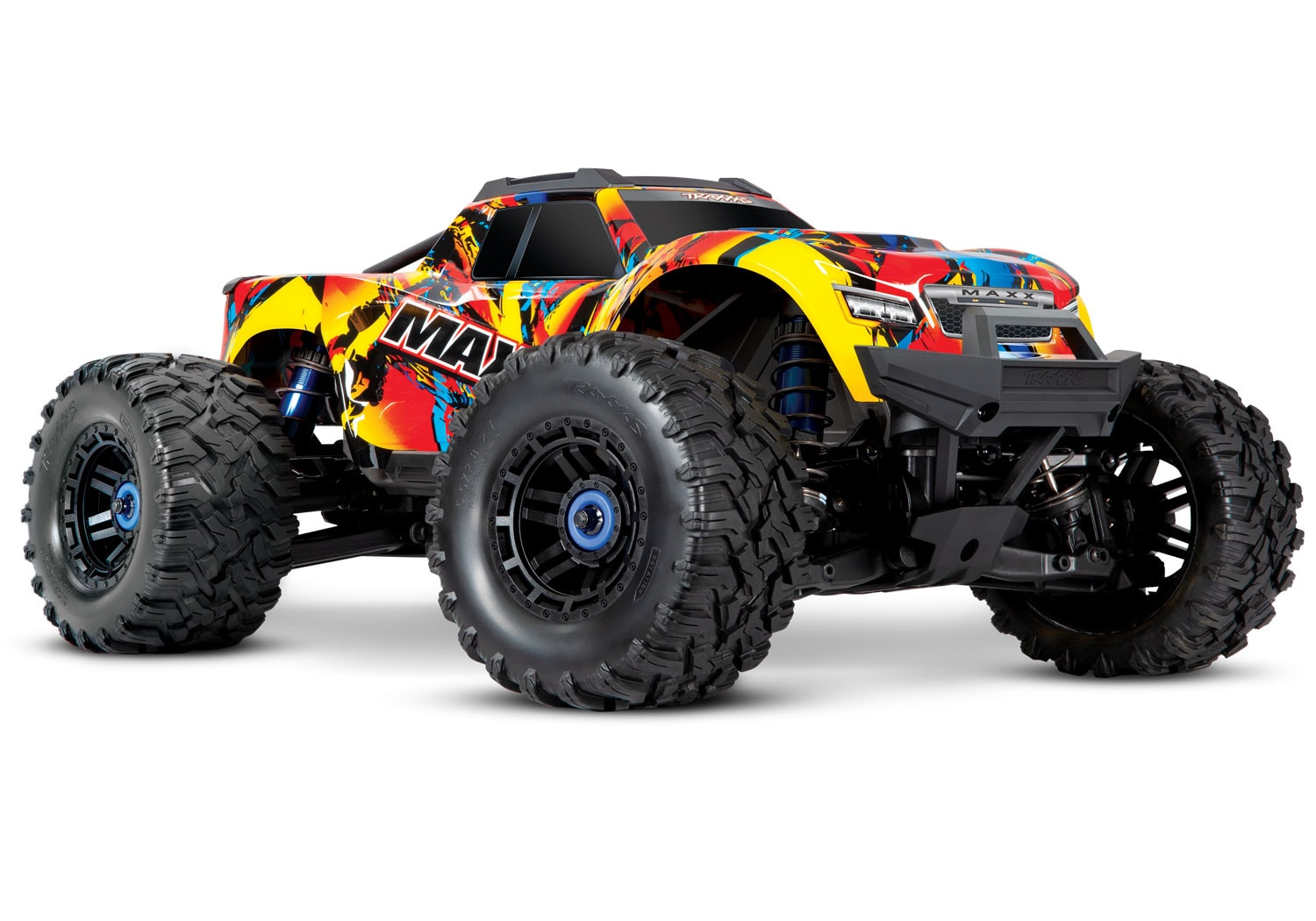 Traxxas Introduces a New Color Option for the Maxx; Solar Flare