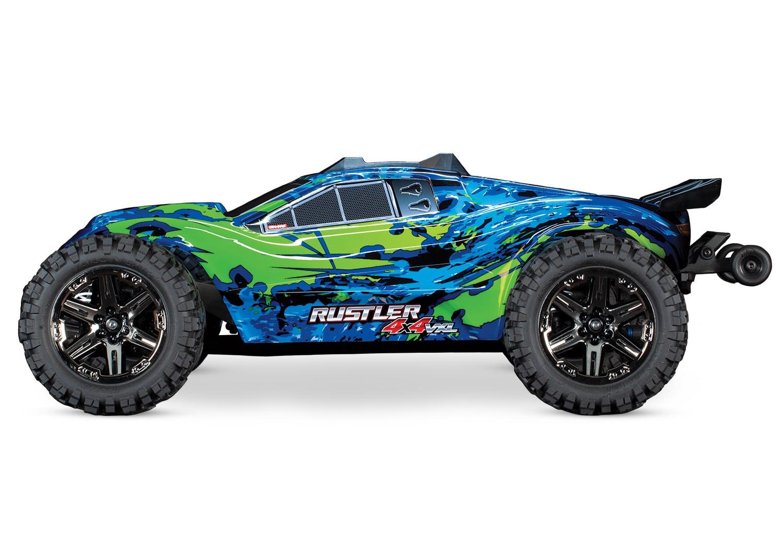 Traxxas Rustler 4x4 VXL - Side