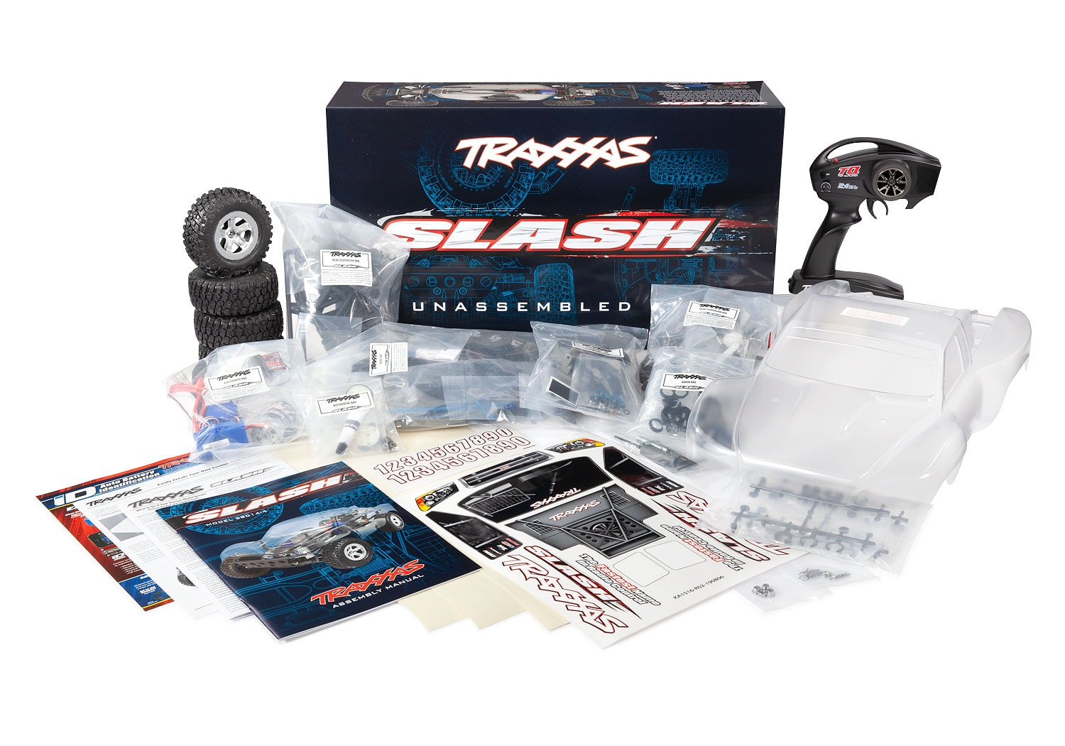 Build it & Bash it; The Traxxas Slash is Now Available as a Kit