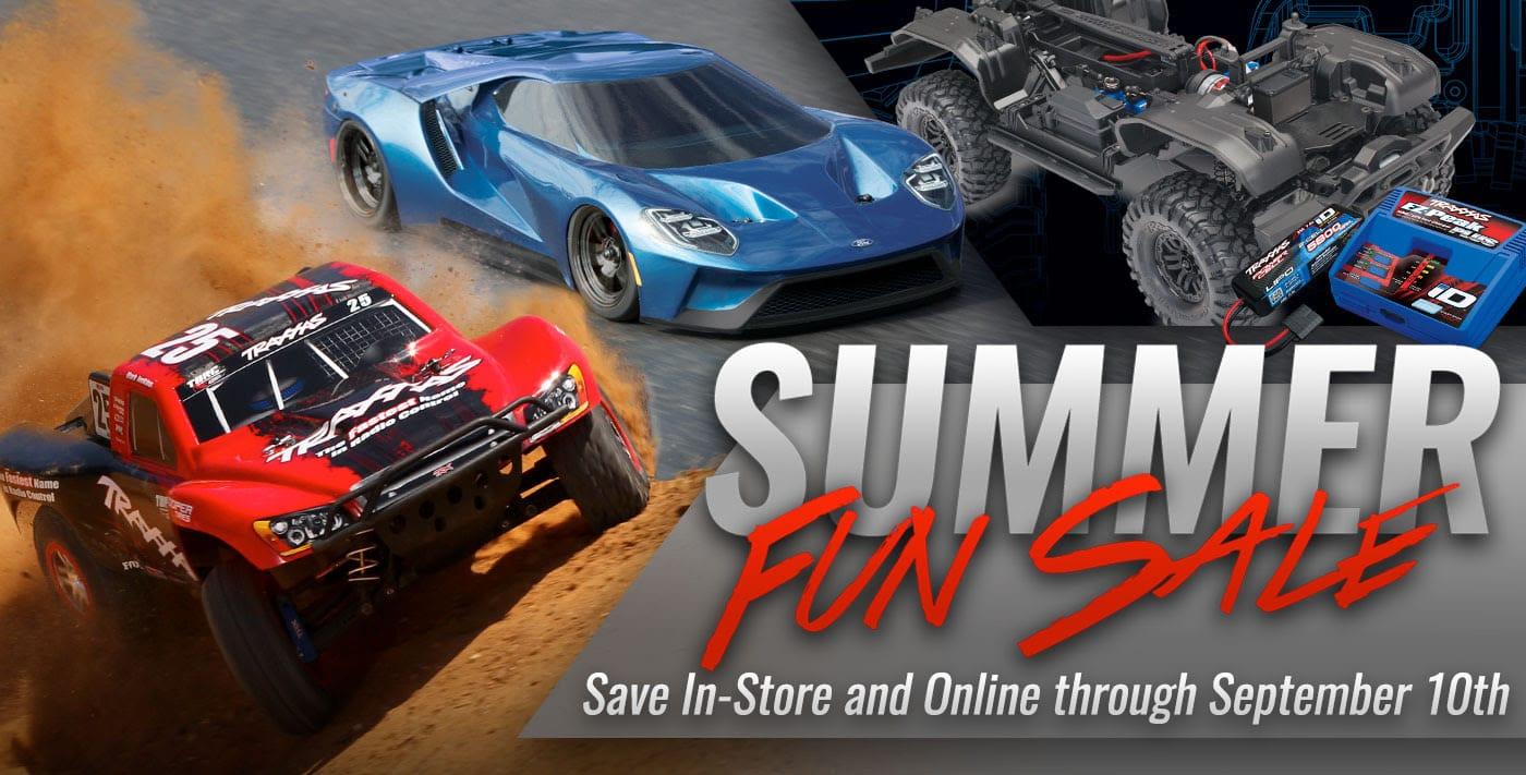 One Last Blast: Traxxas Summer Fun Sale Returns