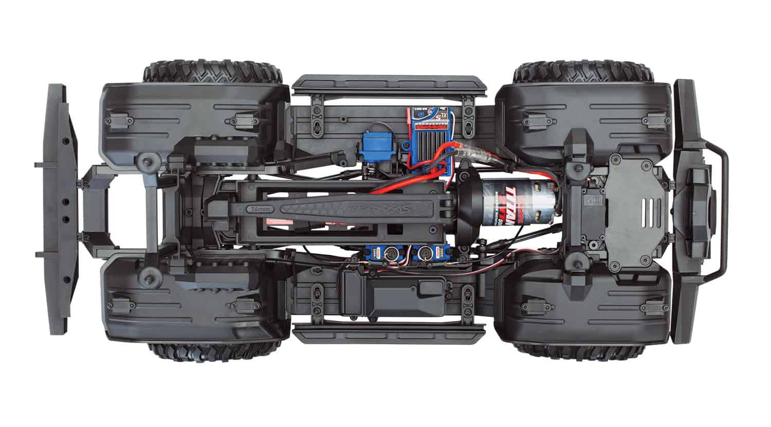 Traxxas TRX-4 Assembly Kit - Chassis Top