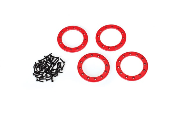 Traxxas TRX-4 Red Beadlock Rings