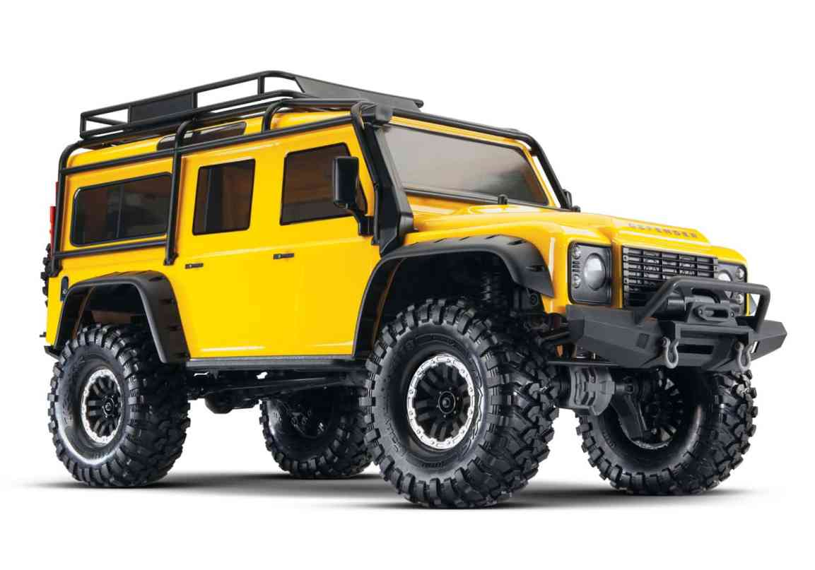 Un-Mellow Yellow – Traxxas TRX-4 Special Edition Yellow Land Rover Defender