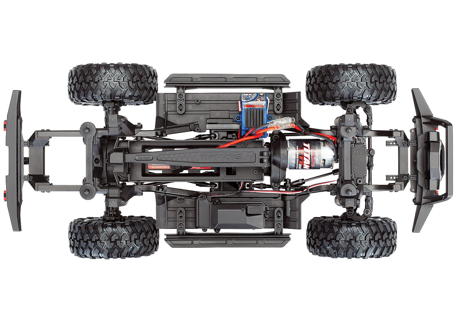 Traxxas TRX-4 Sport - Chassis Top