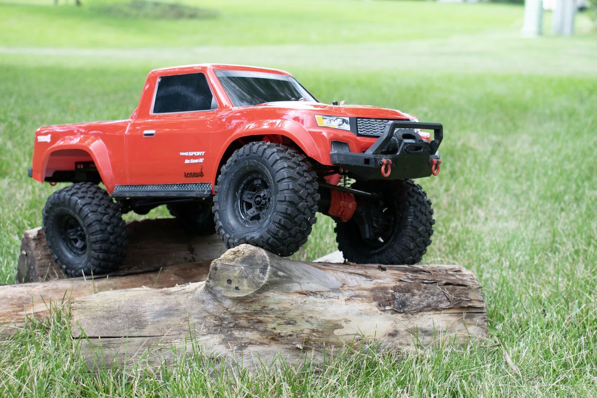 Traxxas TRX-4 Sport - Log Crawl Front