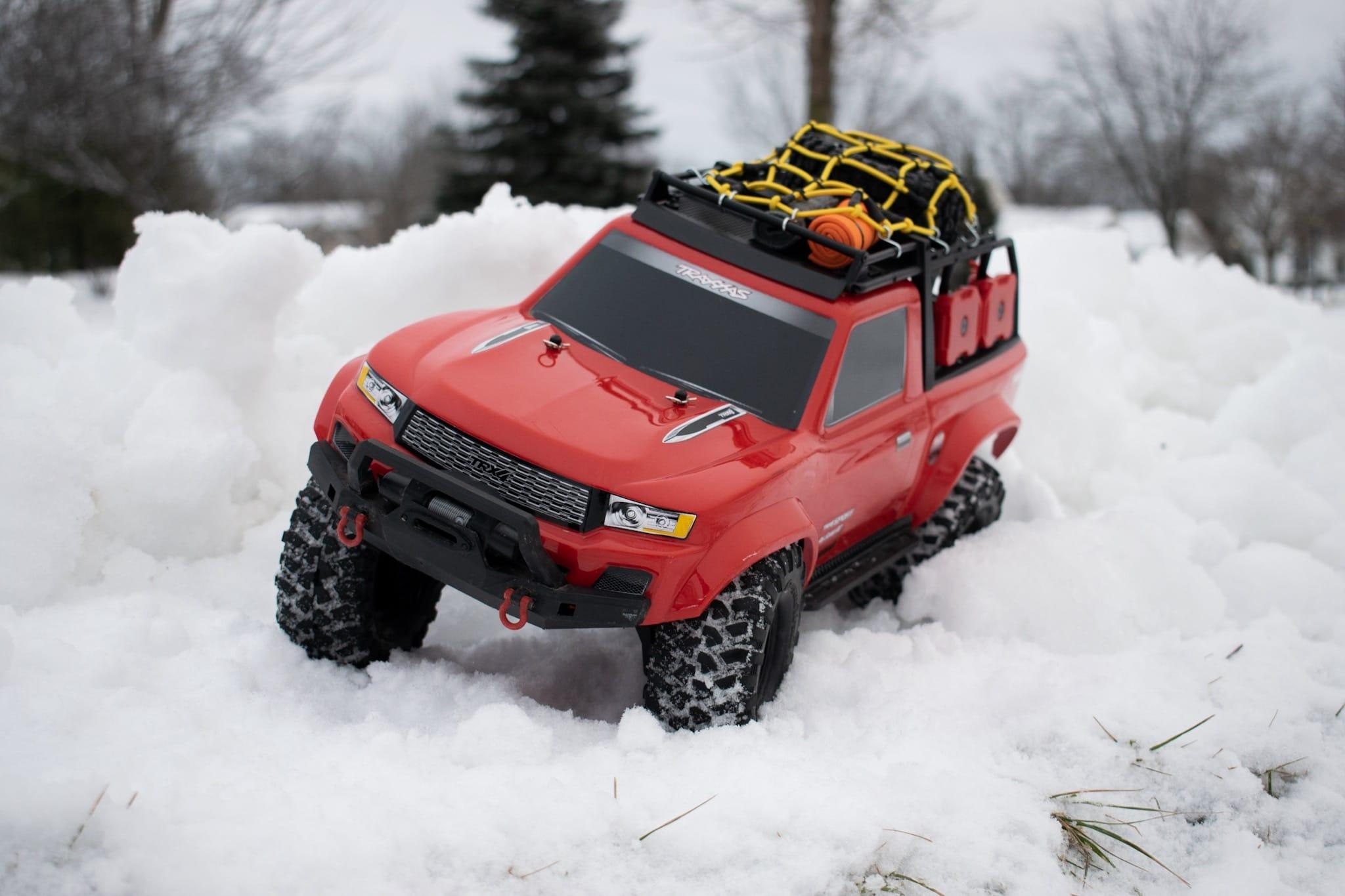 Traxxas TRX-4 Sport - Snow