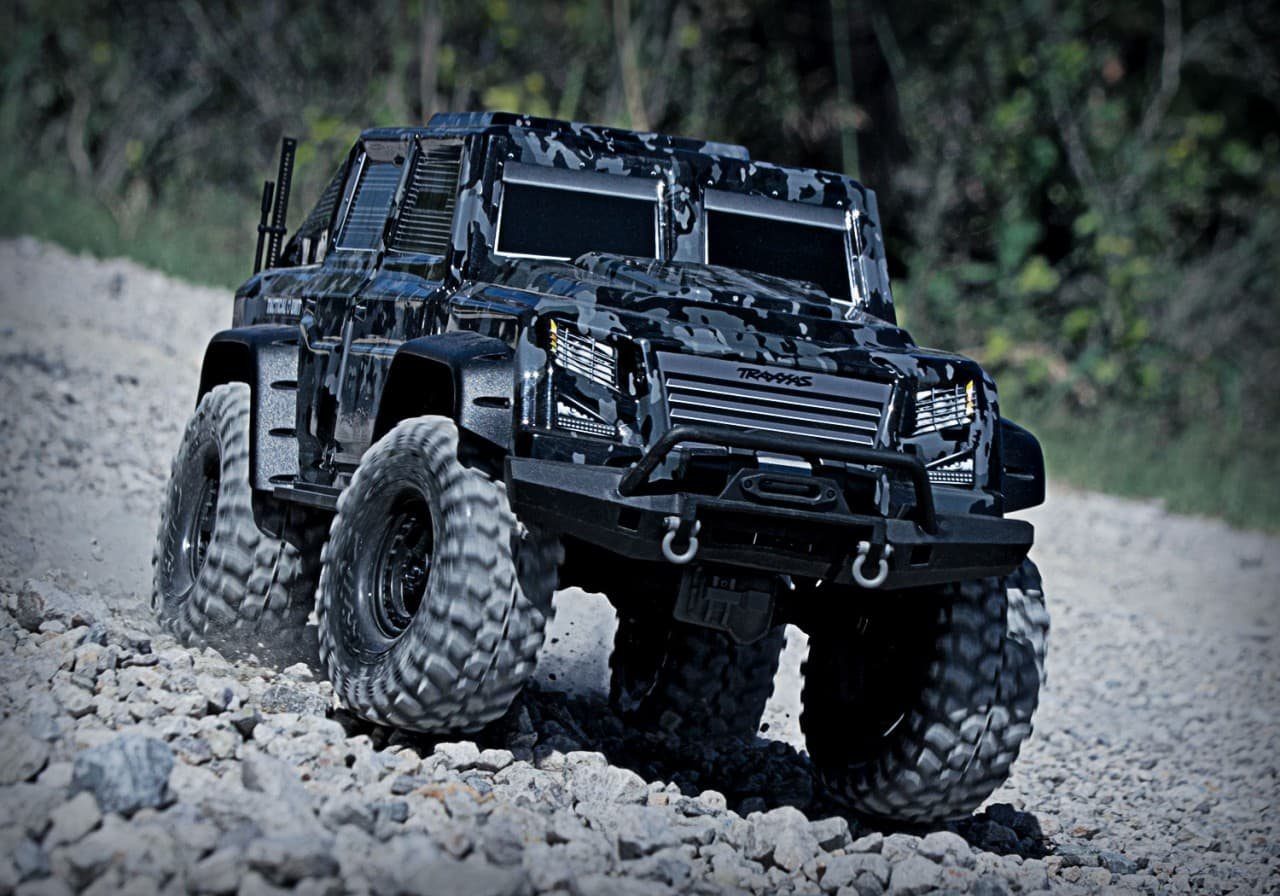 Traxxas TRX-4 Tactical Unit RC Scaler - Outdoor Front